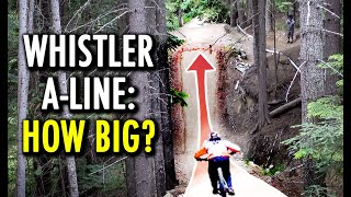 Whistler A-LINE: Can I Clear the World's Most Famous Jump Trail?