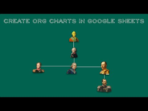 Create an Org Chart in Google Sheets