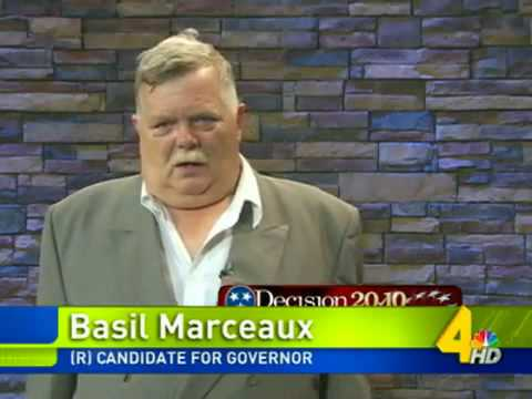 Basil Marceaux: The Next Governor of Tennessee