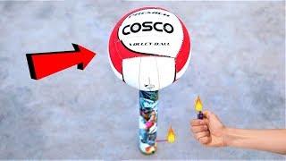 SkyShot VS Volley Ball | स्काई शॉट ने वॉलीबॉल को आसमान में पहुंचा दिया |