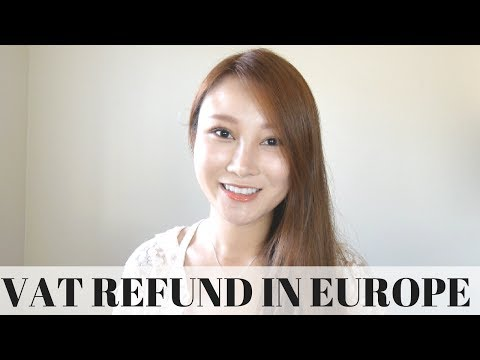 VAT Refund in Europe + How To & Experience with US Customs | Cherry Tung
