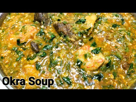 How to Make Nigerian Okra Soup - Quick & Easy