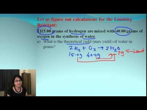 Limiting Reactant - Part II