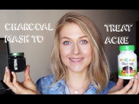 DIY ACTIVATED CHARCOAL SCRUB/MASK FOR BLACKHEADS