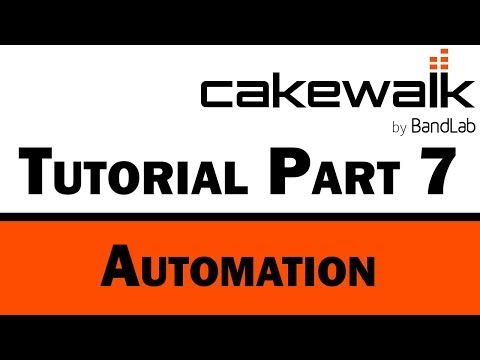 Cakewalk by BandLab Tutorial (Part 7) – Automation and Control Surfaces