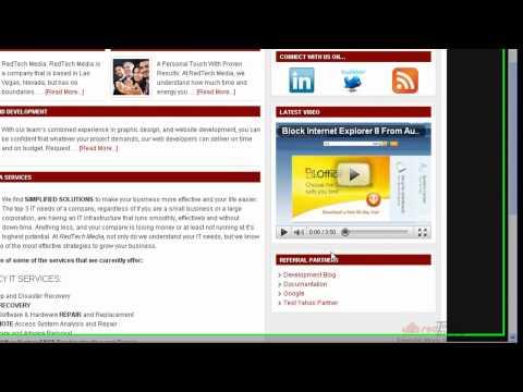 Adding A Widget To Wordpress Website