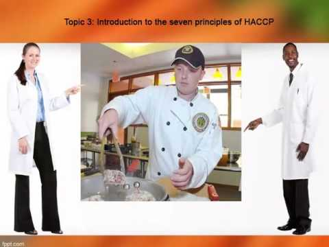 Scenario based Rapid e Learning Project on Implementation of HACCP principles to promote food safety