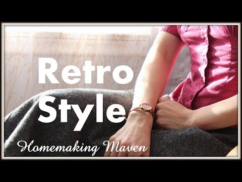1940's Retro Outfit Series | OOTD 2 | Homemaking Maven