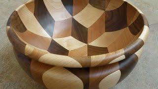 Woodturning -  Tumbling Bowl