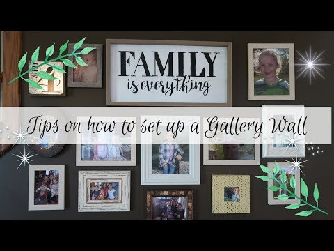 DECORATE WITH ME | TIPS ON HOW I DECORATE A GALLERY WALL | SIMPLE TIPS |