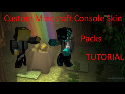 How to make your own minecraft ps3/wiiu/xbox/ps4 skin packs!!!!! EU & US