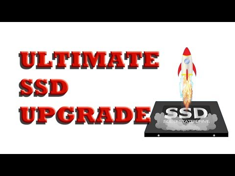 How to upgrade your laptop SSD hard drive and keep your Operating System