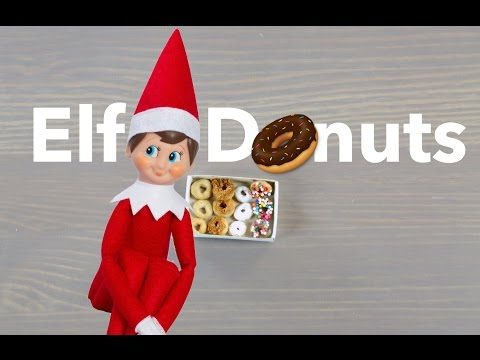 How To: Make Elf Doughnuts For Elf On The Shelf | Simplemost