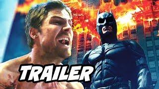 Arrow CW Batman Scene Explained - Arrow Season 5 Episode 16 TOP 10