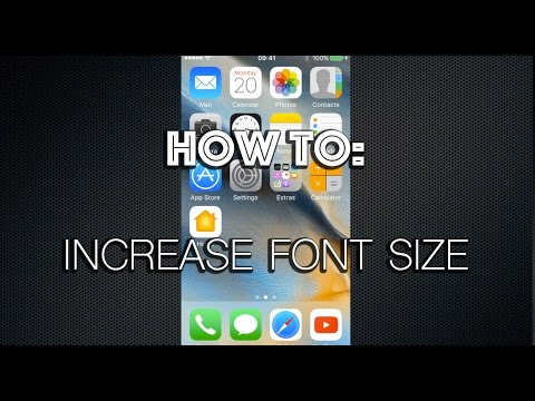 How To Increase Font Size On iPhone or iPad