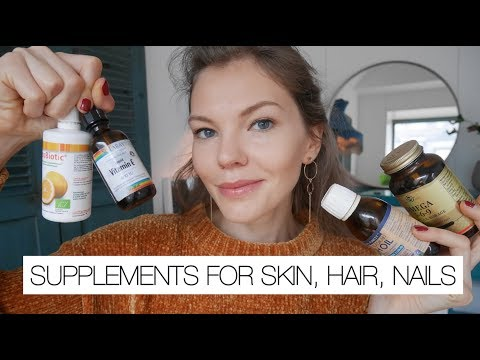 Best Supplements For Skin , Hair & Nails