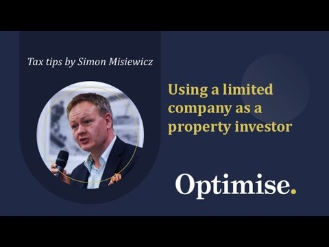 Using a Limited company structure for property investors