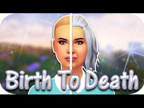 BIRTH TO DEATH | THE SIMS 4 // Cancer Survivor!