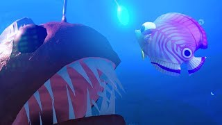 SURPRISE ANGLER FISH ATTACK! - Feed and Grow Fish - Part 47 | Pungence