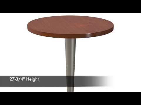 Tapered Pedestal Table Base - Replacementtablelegs.com