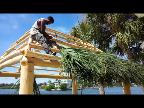Building the tiki hut part 2