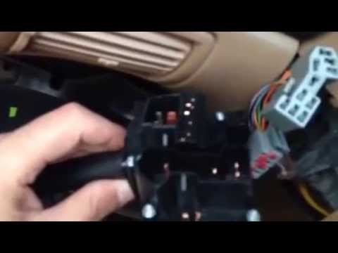 How to: Replace a turn signal (multifunction) switch