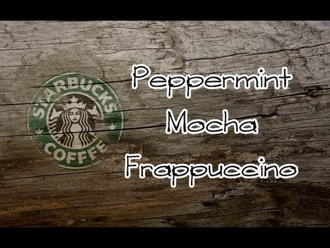 Peppermint Mocha Frappuccino (Thirsty Thursday) (TheVegetarianBaker)