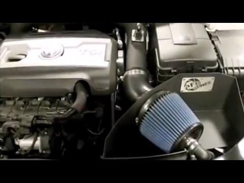 AFE Stage 2 Cold Air Intake System Installation on Volkswagen Golf GTI
