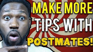 Postmates Delivery Driver Tips How To Make More Money Tips On Postmat