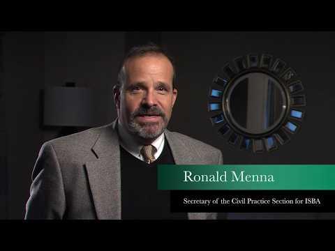 Ronald Menna Testimonial for ISBA 3rd VP President Candidate Stephen Komie