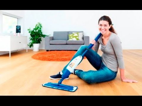 How to use and setup a Bona Spray Mop for oak wooden & laminate floors!