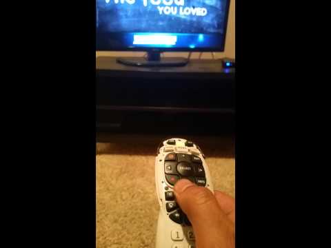 How to program Directv RC71 remote to LG tv