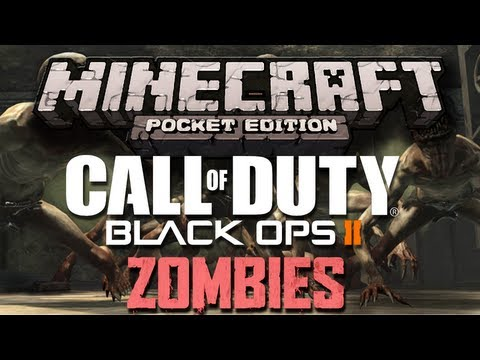 Call Of Duty Black Ops 2 Zombies Map Town - Minecraft Pocket Edition