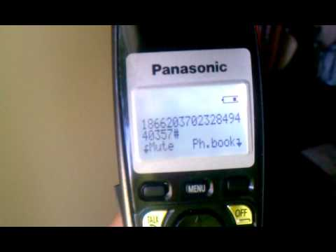 Panasonic DECT 6.0 Cordless Phones Fail with No Link to Base and reset