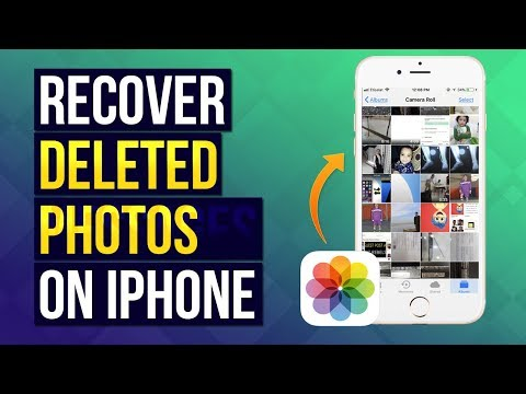 How to Recover Deleted Photos from iPhone | iPhone data Recovery
