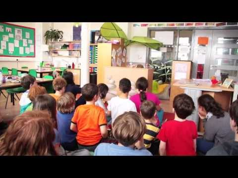 Anti-bullying resource Woodfer's World in action in the classroom