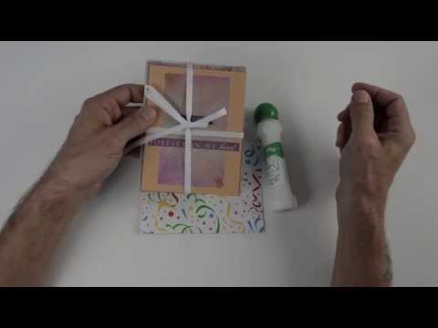 Lick and Stick Remoistenable Envelope Glue for Handmade Envelopes