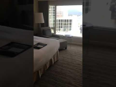 Fairmont Waterfront Hotel Room Tour - Vancouver, British Columbia, Canada