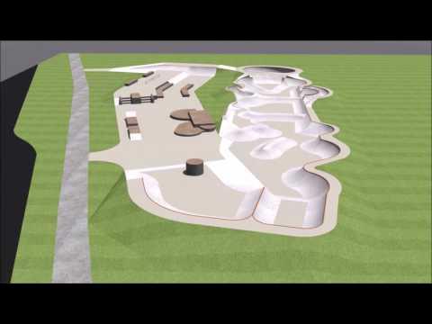 Muncie, Indiana Skatepark Design Animation 2017