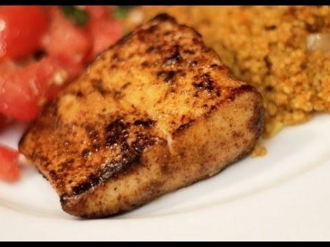Blackened Fish Recipe -- easy spicy fish dish