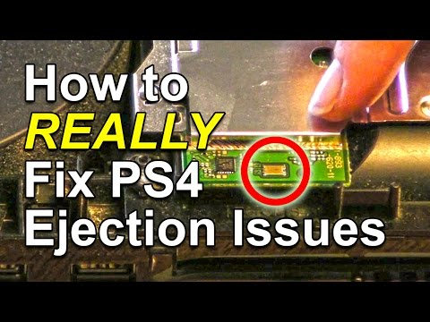 How to REALLY fix PlayStation 4 Auto Eject Disc Problems