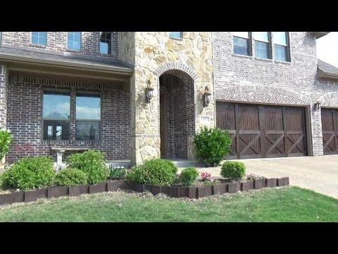 DIY Garden edging stones