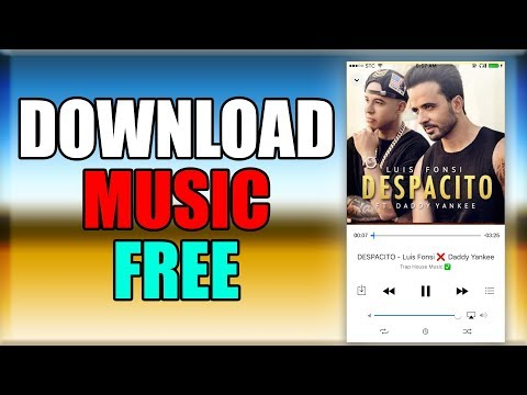 Download MUSIC FOR FREE - iPhone ( iOS 9 /10 / 11 ) 2018