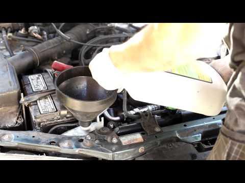 1994-1997 Honda Accord Coolant drain and refill