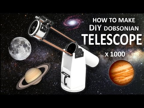 How To Make DIY Telescope - Experiment At Home