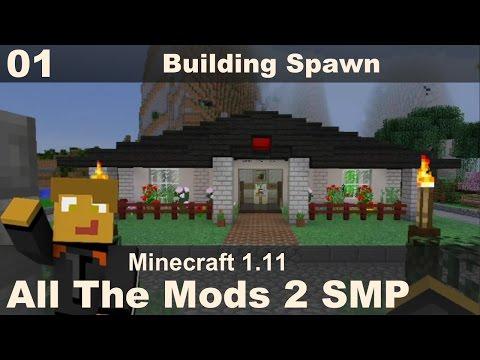 All The Mods 2 SMP - E01 - Spawn Build