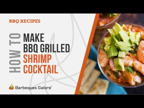 How to make bbq grilled mexican shrimp cocktail