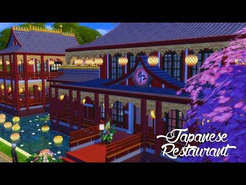 Sims 4 Speed Build | Japanese Restaurant
