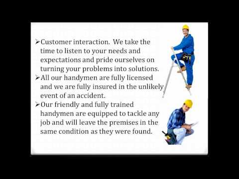 Handyman Services Gold Coast and Brisbane