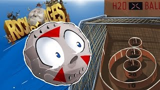 ROCK OF AGES - SKEEBALL WITH BOULDERS! With Cartoonz!